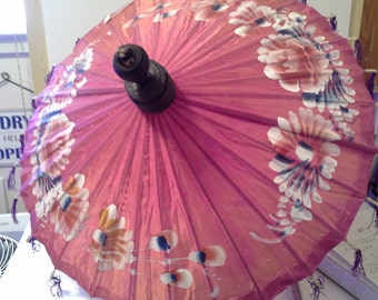 Chinese cloth parasol