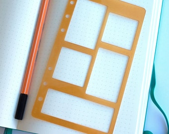 PERSONAL SIZE, 5 Block, Planner Template, Bullet Journal Template - 514