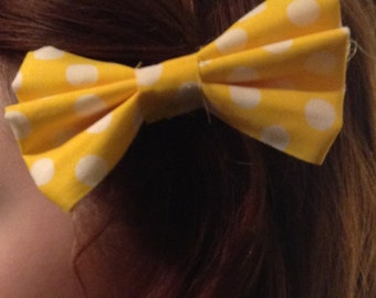 Fabric 4 inch bows