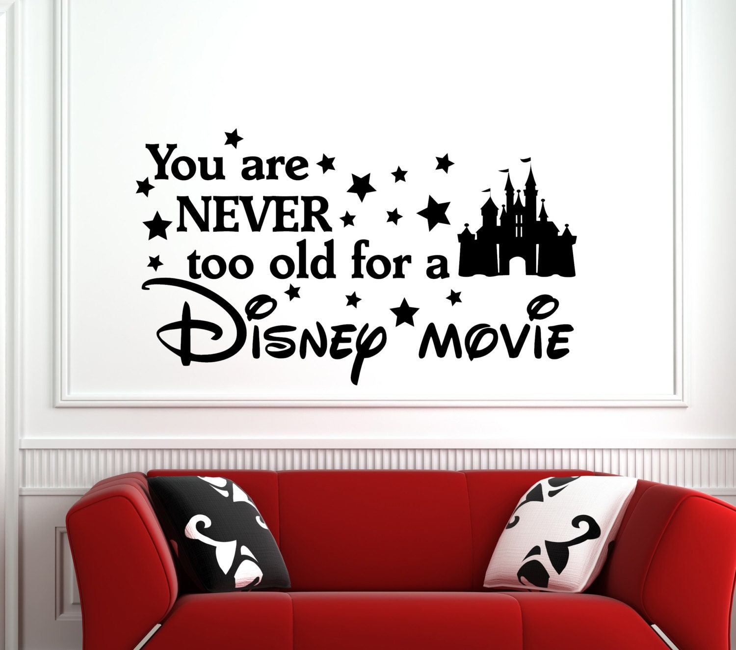 Never too old disney movie disney wall quotes we do disney zoom amipublicfo Choice Image
