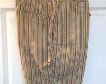 Striped mens shorts