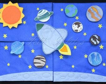 Space felt board set