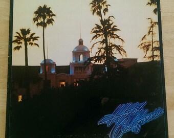 The Eagles - Hotel Caliornia - 7E-1084 - Original 1976 Sterling Pressing