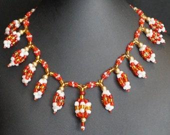 Devi Bead Necklace #001