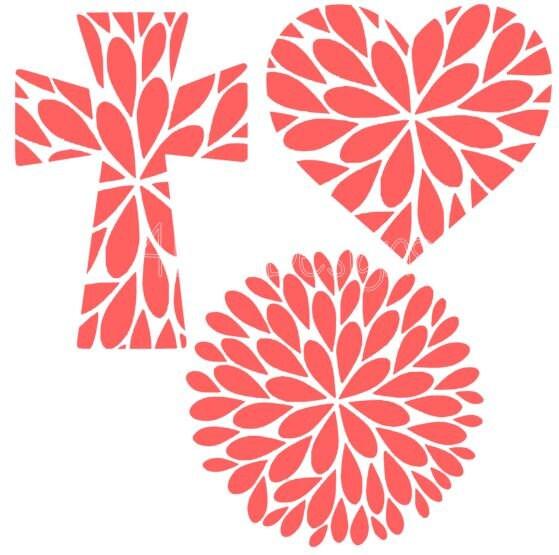 Dahlia Design Set Dahlia Flower Flower Svg Svg Design Svg