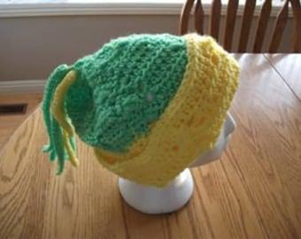 winter toque hand made crochet