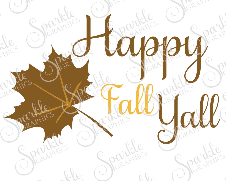 Download Happy Fall Yall SVG Fall Yall Fall SVG Fall Autumn