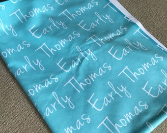 Personalized Oh So Soft Baby Blanket