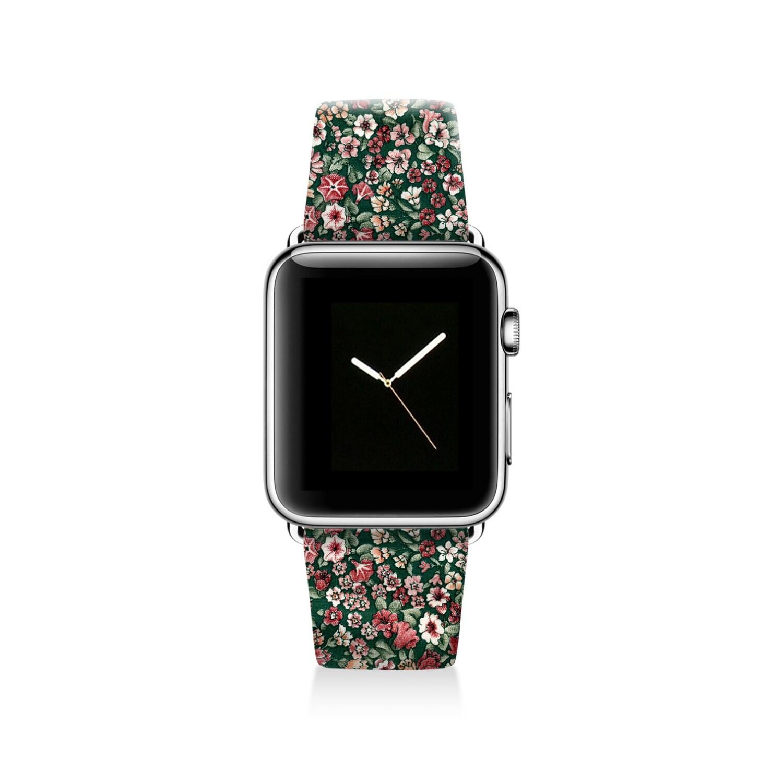 Floral Apple watch band women Apple watch strap genuine
