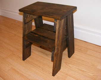 Step Stool/Accessory Table