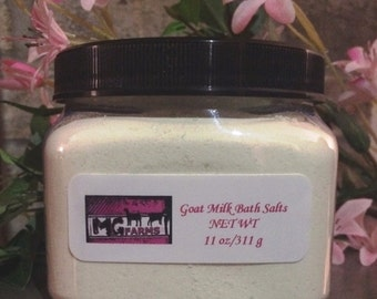 Goat Milk Bath Salts