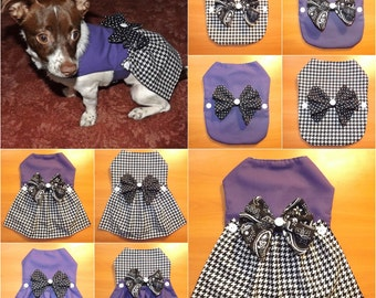 Black & Purple 12-in-1 Pet Outfit