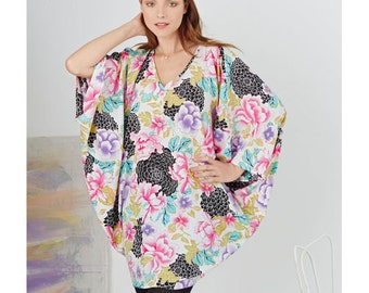 Sewing Pattern for Misses Kimonos in Various Styles, Simplicity Pattern 8091, Misses' & Plus Sizes,Tunic Top, Kimono Top, Easy Sew Pattern