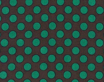 Bottle Ta Dot -  end of bolt 1/8 YARD - HALF YARD - Michael Miller - Cotton Fabric - Quilting Fabric