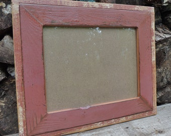 Reclaimed Wood Picture Frame - Rustic Home - Frames - Housewares - Rustic Picture Frame - 11 x 14 Photo - Wedding Gift
