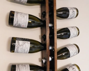 Hand Crafted Upright Wine Rack