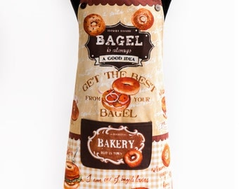 Apron Bagel By Kitchen-chic