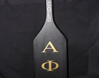 Alpha Phi Alpha Wooden Paddle