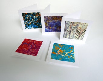 5 cards paper