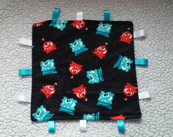Monster Taggie Blanket - Lovey Size
