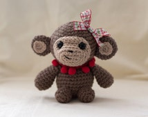Cute Little Monkey Amigurumi Pattern