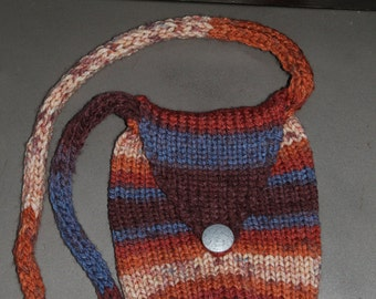 Knitted purse <3