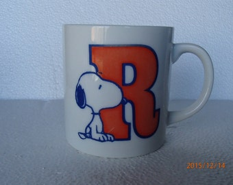 "Snoopy ""Radio"" Mug"
