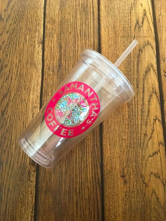 Lilly Pulitzer Starbucks Tumbler Starbucks By