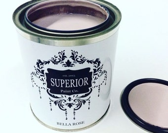 Bella Rose Superior Paint Co.  DIY Canadian Made Fresh Chalk Furniture Paint