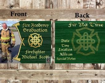 Firefighter Invitation Announcement