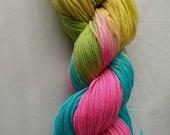 merino/ nylon 4ply sock yarn