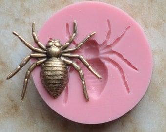 Spider Silicone Mold, Molds, Silcone, Orthrods, Animal, Crafts, Jewelry, Scrapbooking, Resin, Clay G232-18