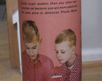 American Plastic Bricks set #715