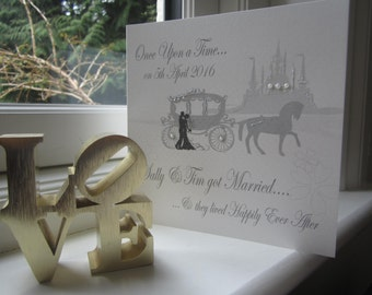 Personalised Wedding Card Daughter Son In Law
