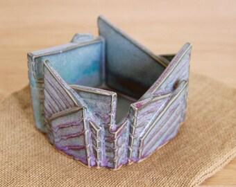 Ceramic Pot, Ceramic Planter, Abstract Ceramic Pot, Clay Sculpture, Decorative Pot, Handmade Clay Planter, Little Clay Pot