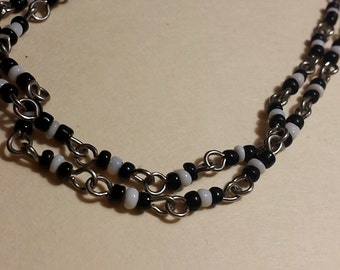 Beaded Necklace Extra Long