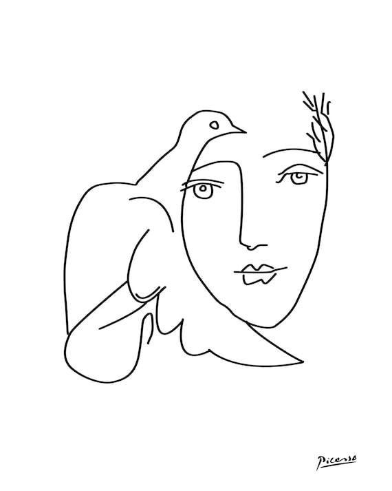 Pablo Picasso Skizze druckbare Picasso Picasso Poster