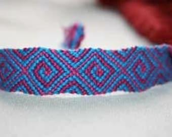 Kaleidoscope twist bracelet