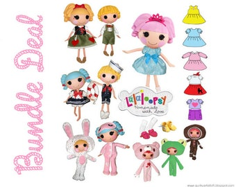 Lalaloopsy Doll Clothing Patterns - Bundle