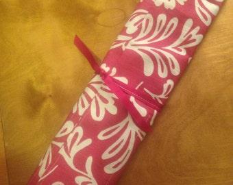 Knittjng needle case wrap