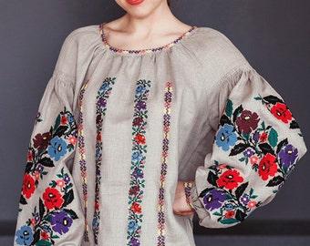 Vyshyvanka, ukranian blouse, embroidered blouse