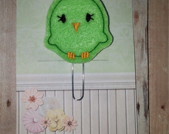 Clover Chick Planner Clip   Paperclip Bookmark    Bookmark    Paperclip   Planner Bookmark   Paperclip Bookmark   Planner Clips