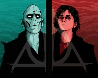 Harry Potter & Voldemort