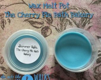Summer Rain Soy Wax Melt Pot