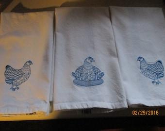 Kitchen Towels - Set of 3