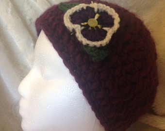 Cozy Posy Hat -customizable!