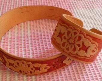 Jewellery made of birch bark  FREE WORLDWIDE SHIPPING