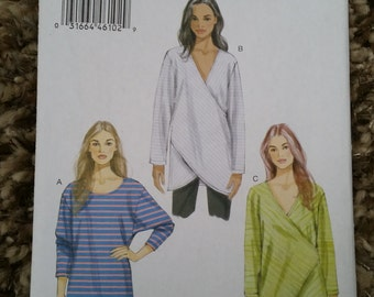 Vogue Sewing Pattern 9111 Y XS, S, M Misses Top