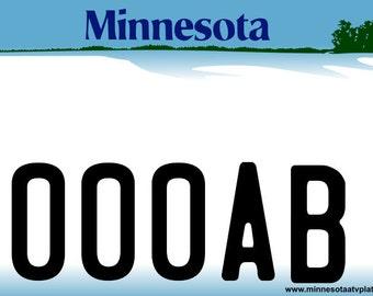 Minnesota ATV Plates