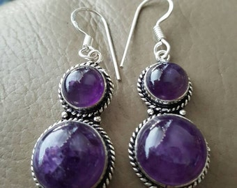 Amethyst Gemstone Earrings!